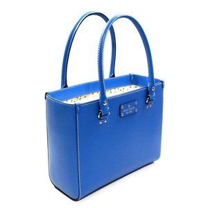 NWT Kate Spade Wellesley Quinn Handbag cobalt blue